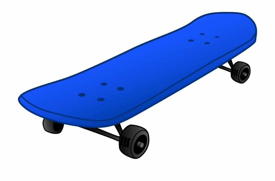 Skate board clipart png black and white download Skateboard Clipart Free PNG Images & Clipart Download #491625 ... png black and white download