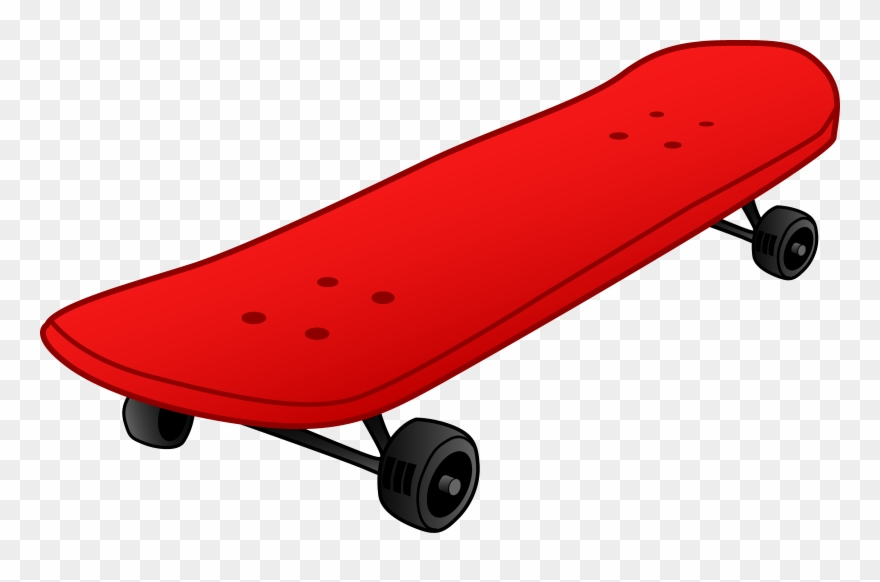 Skateboard deck side view clipart image freeuse Image Of Skateboard Clipart Skate Clip Art - Red Skateboard Clipart ... image freeuse