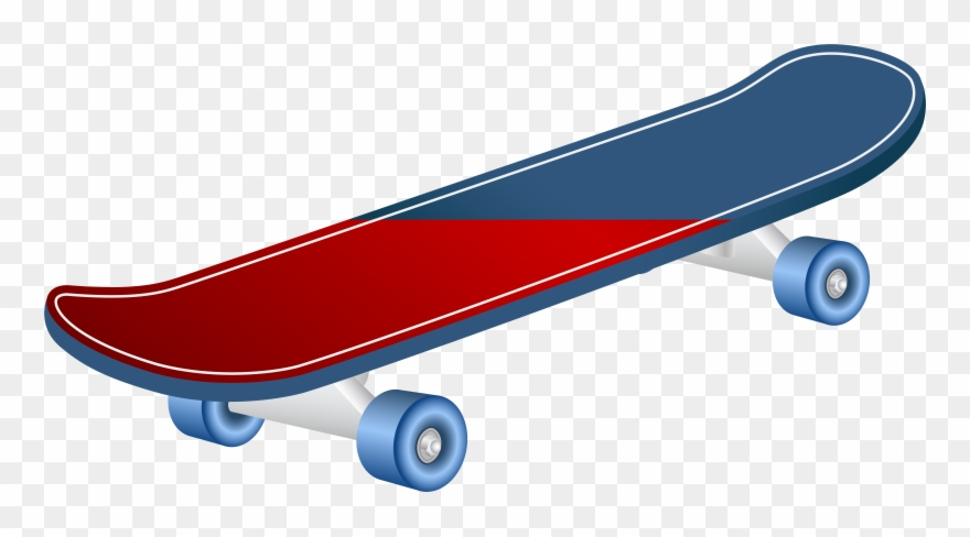Skateboard clipart images clip library download Transparent Background Skateboard Clip Art - Png Download (#292682 ... clip library download