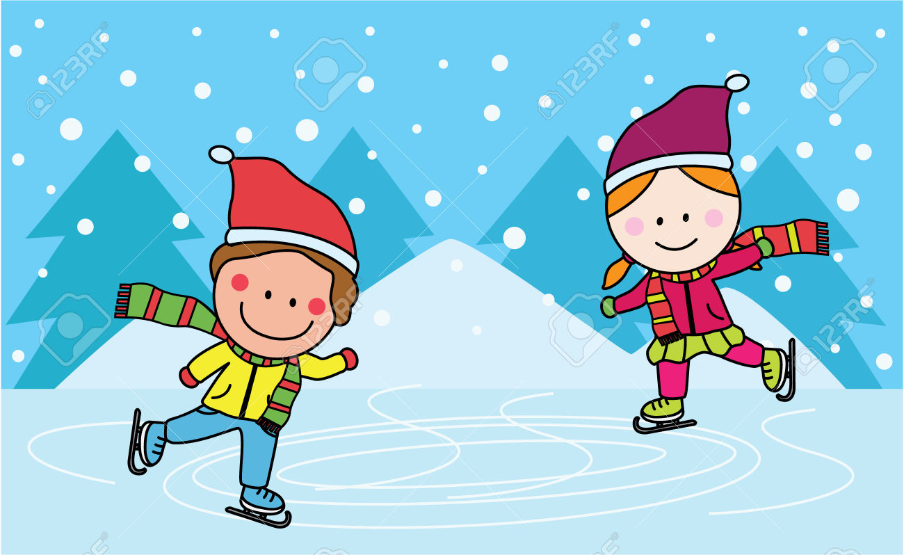 Clipart skating rink png free download Ice Skating Rink Clipart - Free Clipart png free download