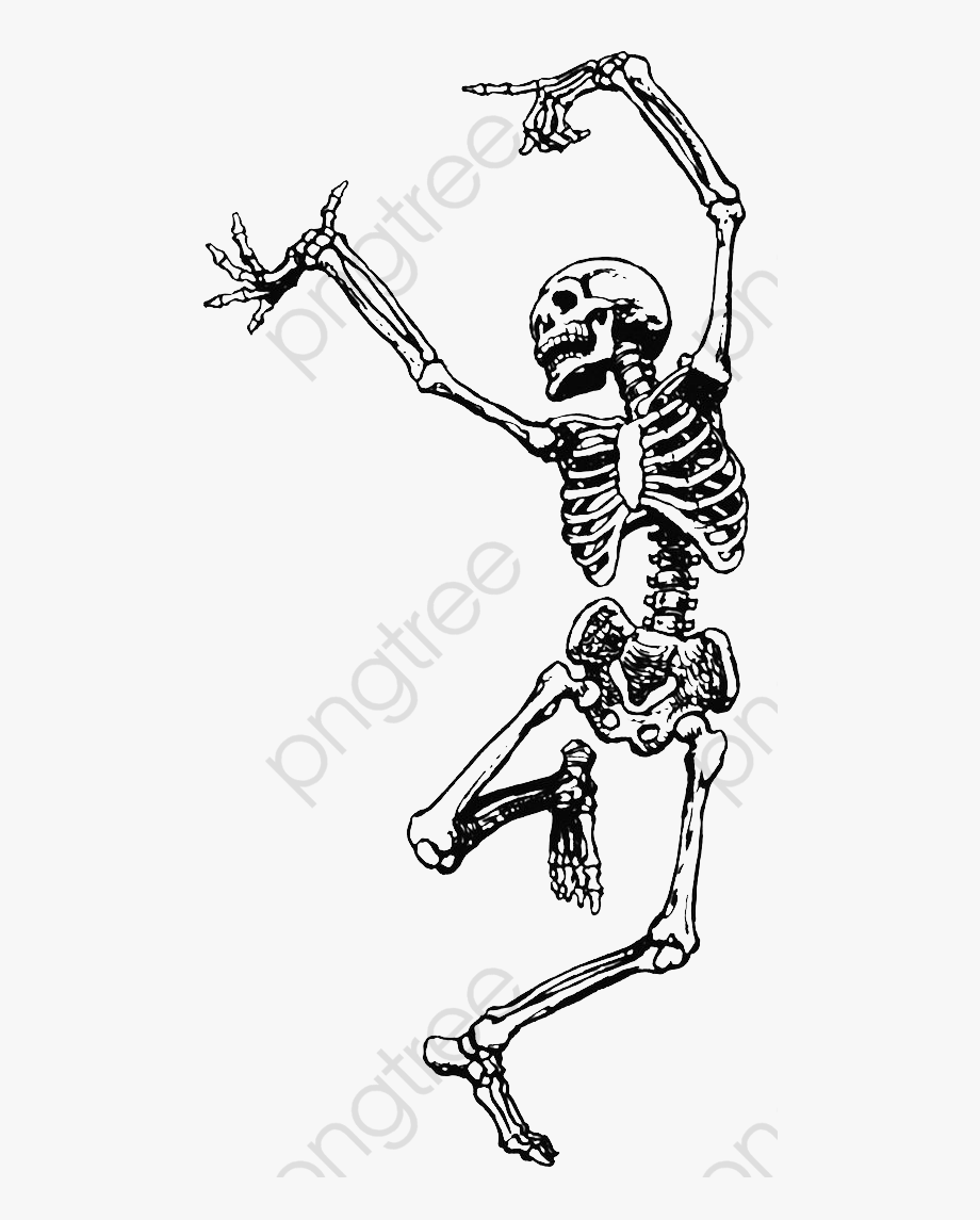Skeletan clipart vector royalty free download Skeleton Clipart Happy - Dancing Skeleton #123591 - Free Cliparts on ... vector royalty free download