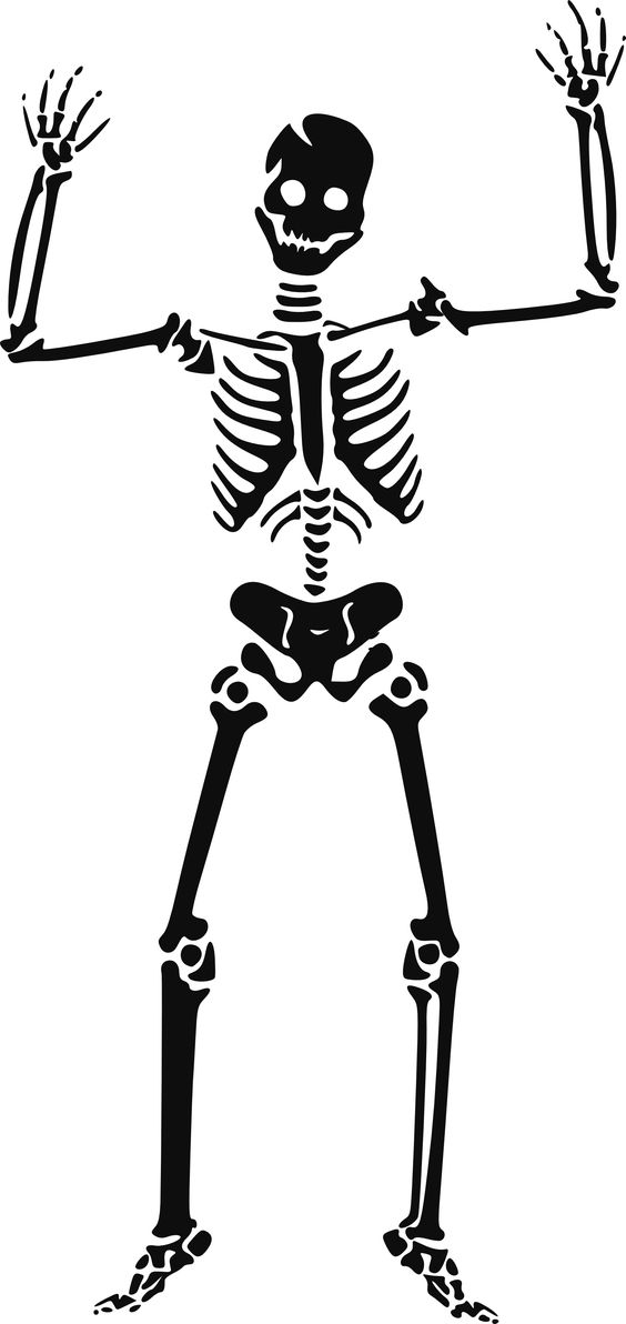 Skeleton clipart waving clip art royalty free stock Skeletons clip art and free clipart images on - Cliparting.com clip art royalty free stock