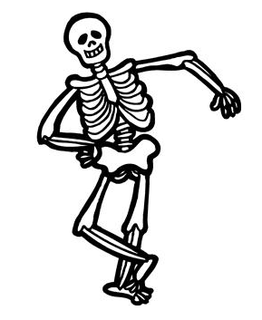 Clipart skeleton clip black and white download Free Free Skeleton Cliparts, Download Free Clip Art, Free Clip Art ... clip black and white download