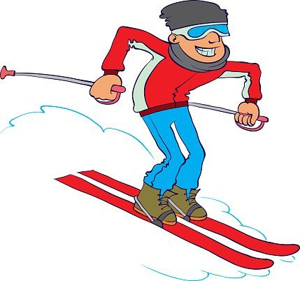 Clipart skifahren clipart freeuse library Clipart skifahren » Clipart Portal clipart freeuse library