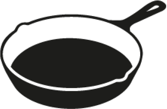 Clipart skillet picture stock Cast Iron Skillet Clipart - Png Download - Full Size Clipart ... picture stock