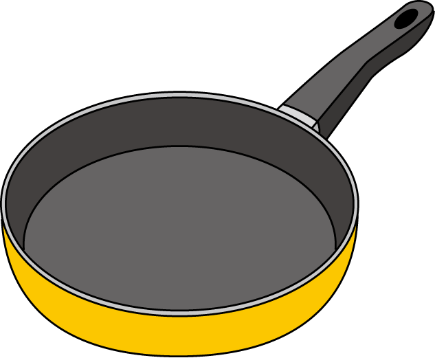Clipart skillet picture black and white Skillet Clipart | Clipart Panda - Free Clipart Images picture black and white