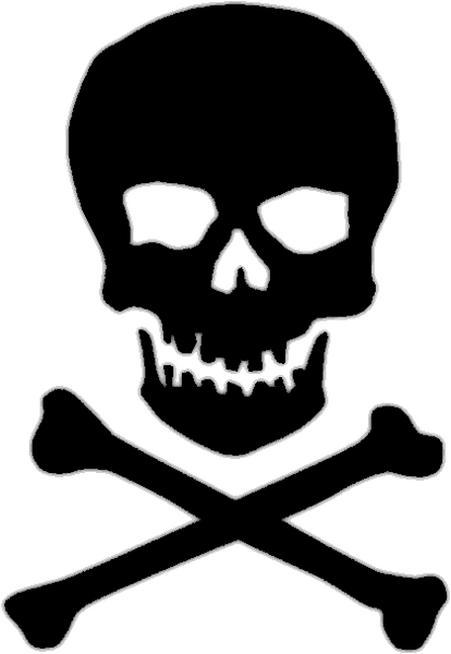 Skull and bones clipart image library stock Skull and Crossbone Clipart image library stock
