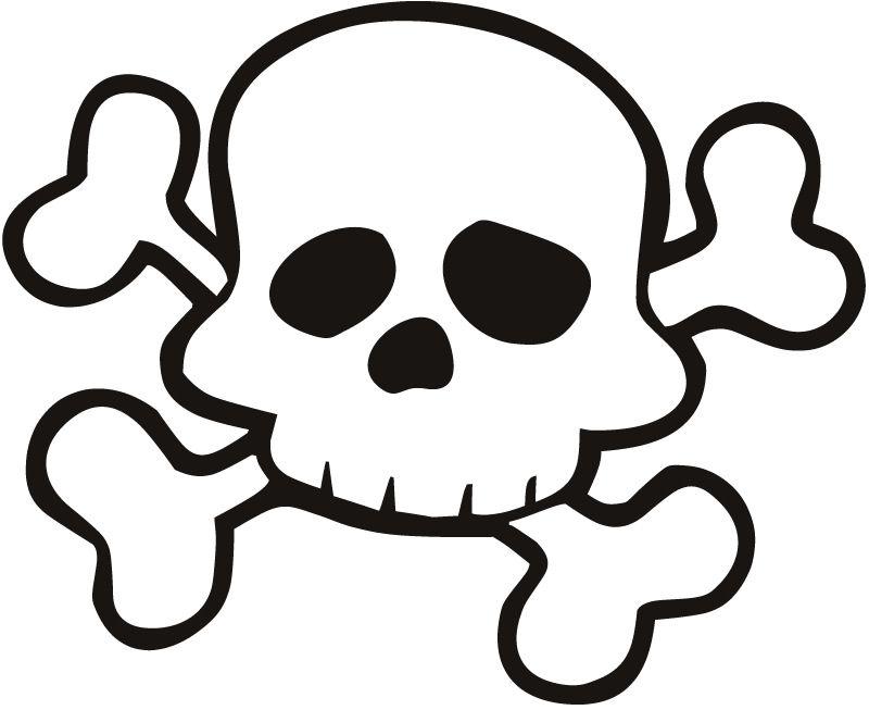 Skeleton crossbones clipart vector freeuse library Free download Skull And Crossbones For Preschoolers Clipart for your ... vector freeuse library