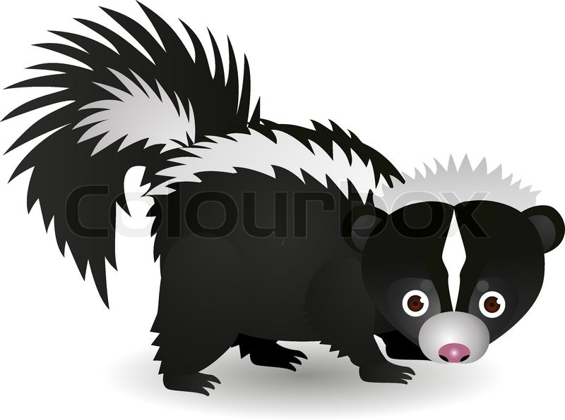 Clipart skunk banner freeuse stock Free Skunk Cliparts, Download Free Clip Art, Free Clip Art on ... banner freeuse stock