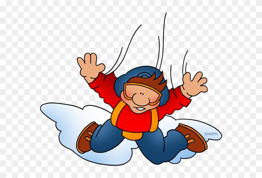 Sky diver clipart banner free library Sky Diving - Sky Diver Clipart - Png Download (#123049) - PinClipart banner free library