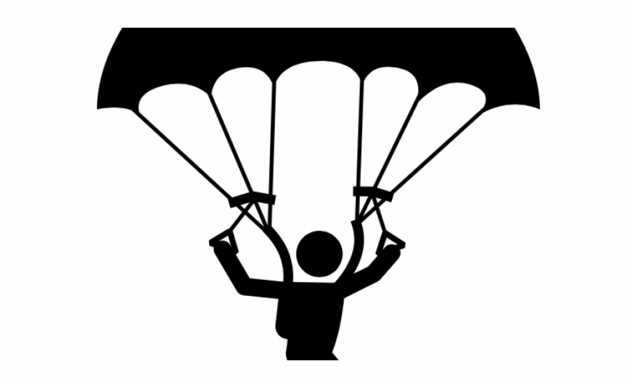 Skydiving images clipart vector transparent Skydiving Clipart Clip Art , Png Download - Skydiving Drawing Easy ... vector transparent