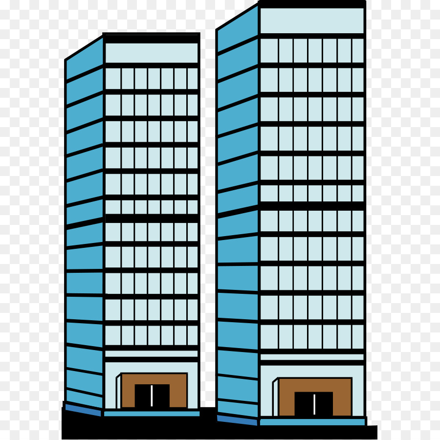 Skyscarper clipart picture black and white stock Building Cartoon png download - 647*900 - Free Transparent ... picture black and white stock