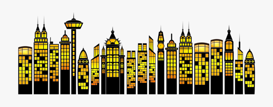 Clipart skyscrapers picture freeuse stock Illustration Of Skyscrapers - Superhero Building Cartoon Png #895767 ... picture freeuse stock