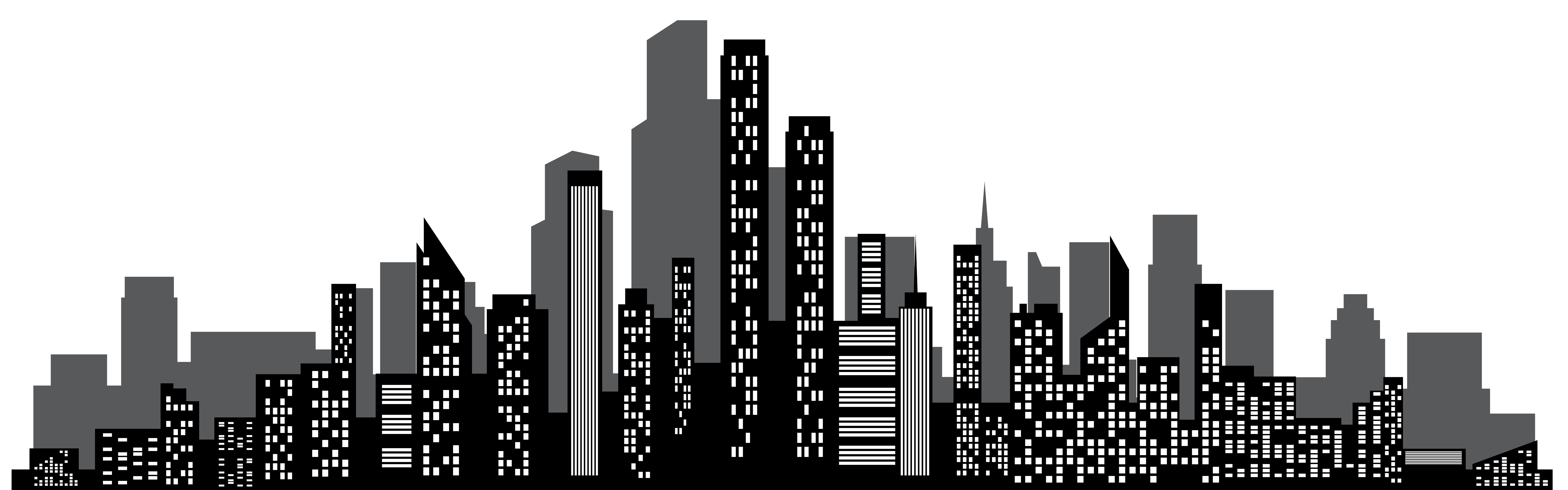 Clipart skyscrapers image black and white download Skyscraper Clipart | Free download best Skyscraper Clipart on ... image black and white download