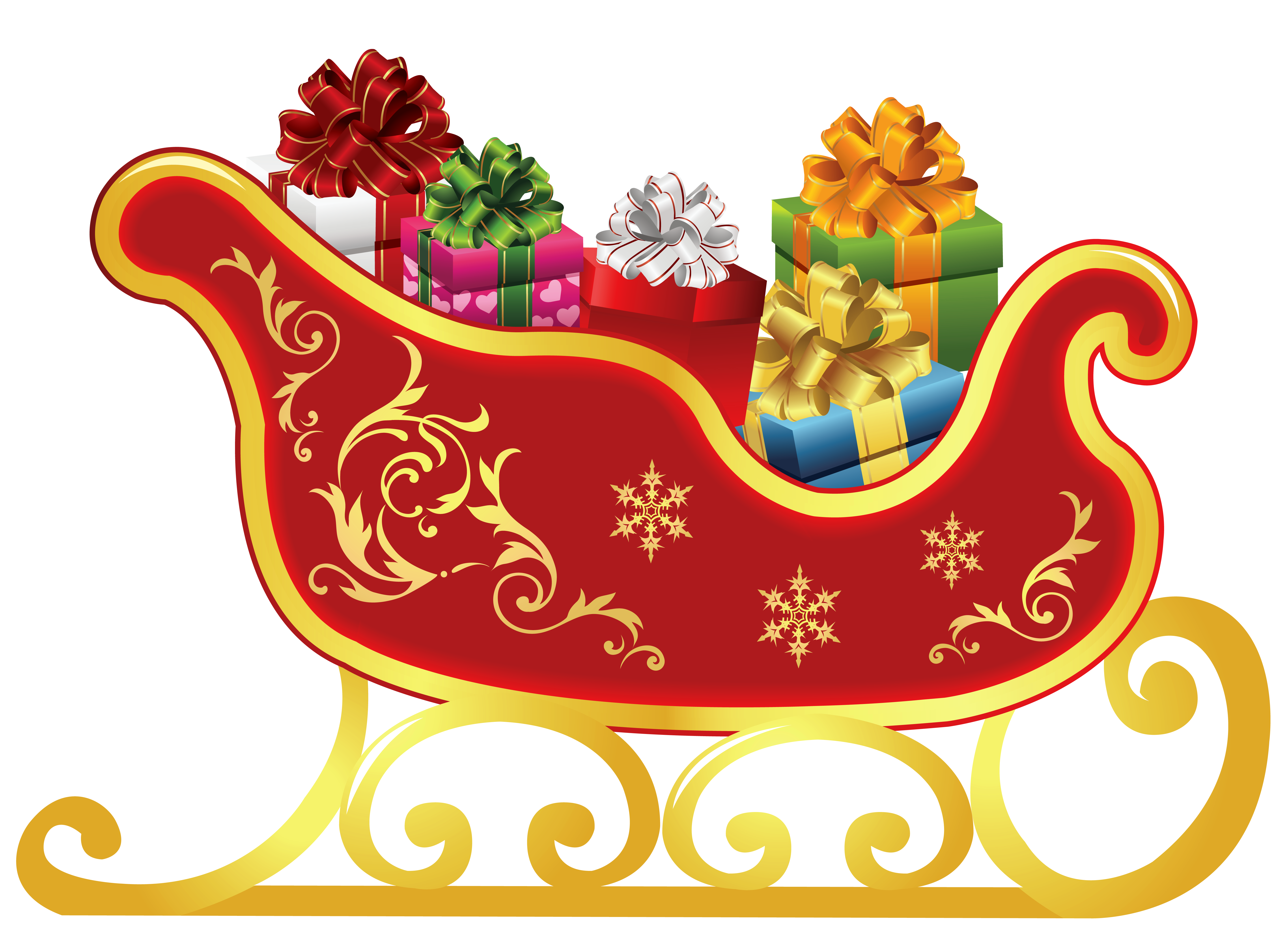 Free clipart sleigh graphic transparent library Free Sleigh Cliparts, Download Free Clip Art, Free Clip Art on ... graphic transparent library