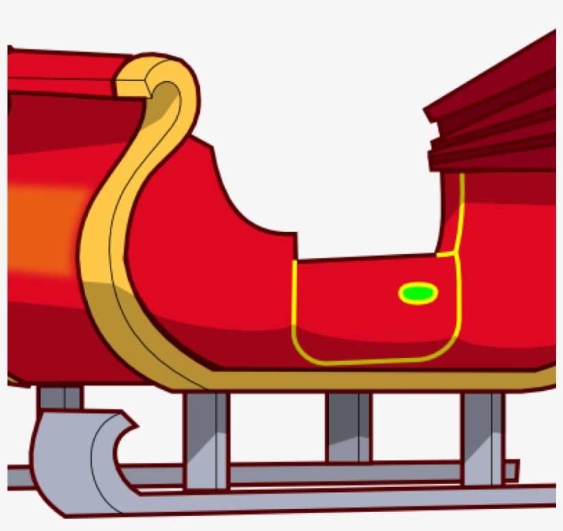 Red sleigh clipart clipart royalty free download Sleigh Clipart Sleigh Clip Art At Clker Vector Clip - Cartoon Santa ... clipart royalty free download