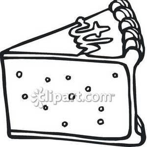 Clipart slice of cake clip art download Slice of cake clipart black and white - ClipartFest clip art download