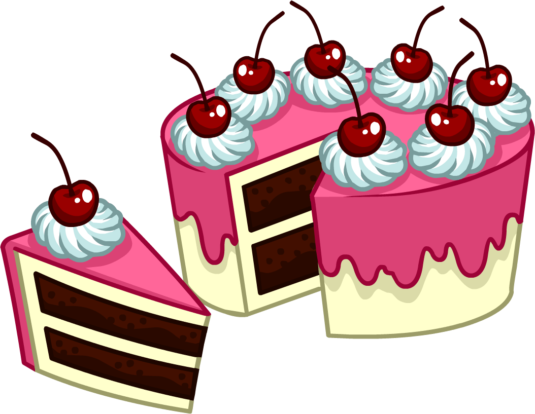 Clipart slice of cake jpg free Image - Puffle Care catalog icons Food 8 peice cake.png | Club ... jpg free