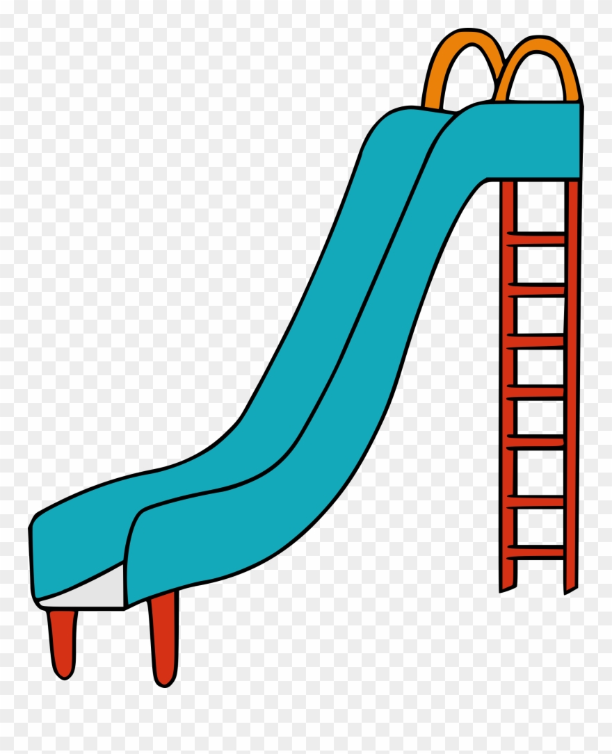 Slid clipart picture freeuse stock Playground Slide - Slide Clipart - Png Download (#71414) - PinClipart picture freeuse stock