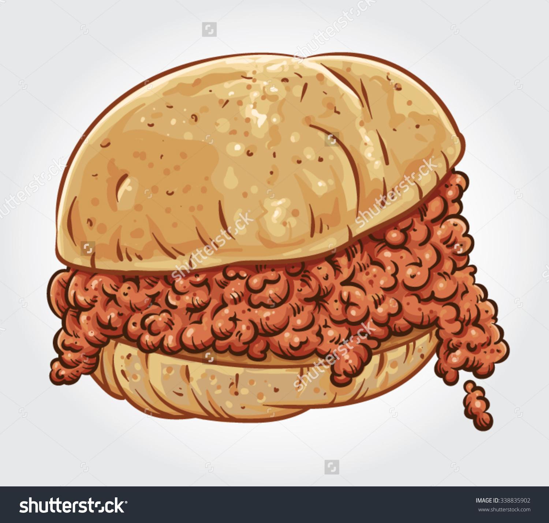 Clipart sloppy clip art royalty free stock Sloppy joe sandwich clipart - Clip Art Library clip art royalty free stock