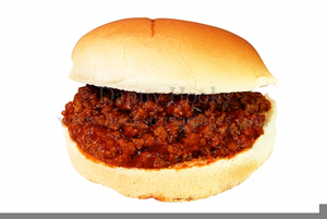 Clipart sloppy jpg royalty free library Sloppy Joe Clipart | Free Images at Clker.com - vector clip art ... jpg royalty free library