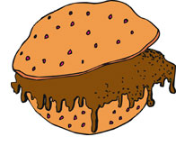 Clipart sloppy picture library stock Sloppy joe sandwich clipart - Clip Art Library picture library stock