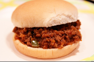 Clipart sloppy jpg black and white library Clipart Sloppy Joe Sandwich | Free Images at Clker.com - vector clip ... jpg black and white library