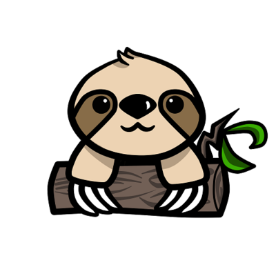 Clipart sloths vector freeuse stock clip art free sloth - Google Search | Old Man of the Trees | Sloth ... vector freeuse stock