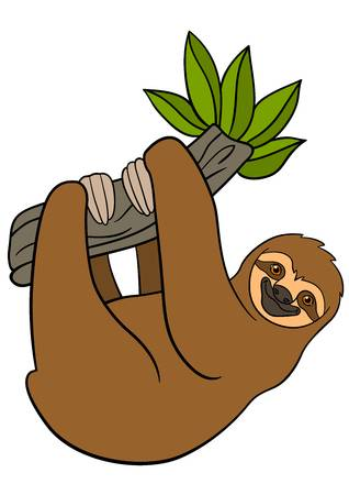 Clipart sloths picture free stock Sloth clipart 1 » Clipart Station picture free stock