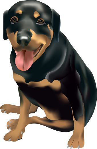 Clipart small black dog png library Clipart small black dog - ClipartFest png library