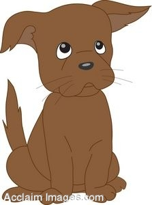 Clipart small brown dog vector library library brown dog clipart – Clipart Free Download vector library library