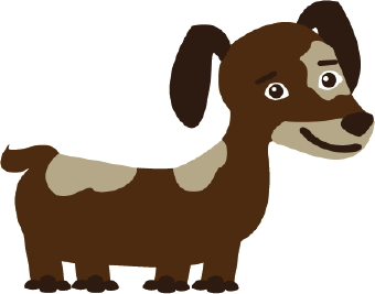 Clipart small brown dog graphic freeuse stock Clipart small brown dog - ClipartFest graphic freeuse stock