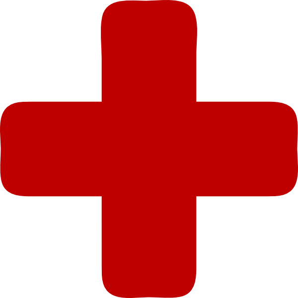 Free red cross clipart image royalty free Red Medical Cross Clip Art at Clker.com - vector clip art online ... image royalty free