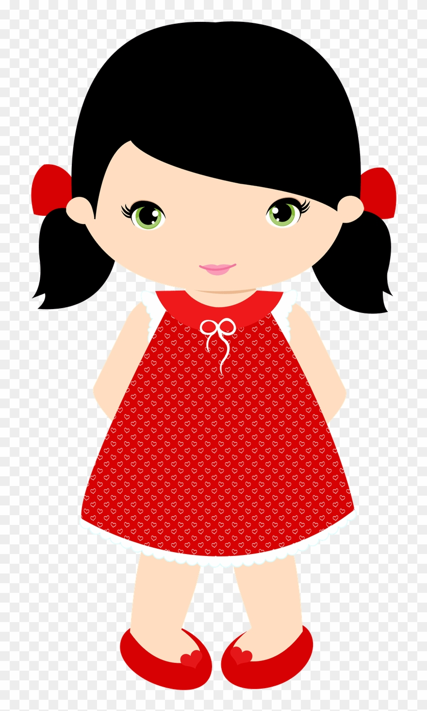 Little girl clipart clip royalty free download Little Girl Clip Art - Little Girl Clipart - Png Download (#3374156 ... clip royalty free download