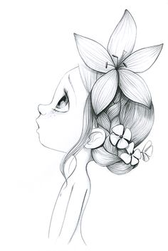 Clipart small girl bangs black and white jpg black and white stock 88 Best little girl drawing images in 2018 | Cute drawings, Cute ... jpg black and white stock