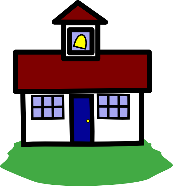 House address clipart clipart freeuse download School House Clip Art at Clker.com - vector clip art online, royalty ... clipart freeuse download