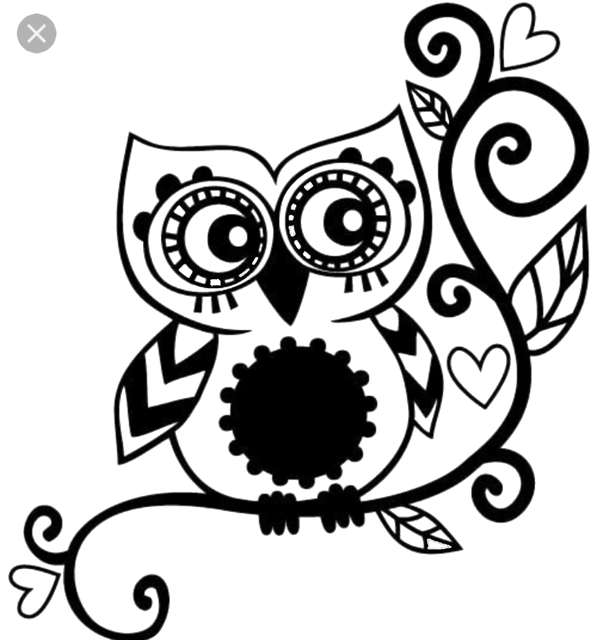Owl beach cat clipart png freeuse library Owl stencil | Blusas | Pinterest | Cricut, Owl stencil and Stenciling png freeuse library