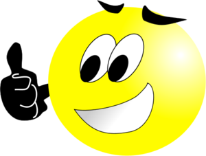 Clipart smiley face thumbs up picture transparent download Smiley face clip art thumbs up free clipart images 5 - Clipartix picture transparent download