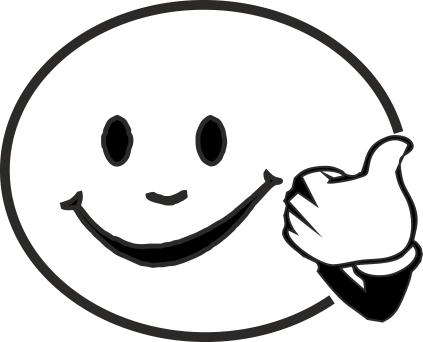 Clipart smiley face thumbs up jpg library stock Clipart smiley face with thumbs up - ClipartFest jpg library stock