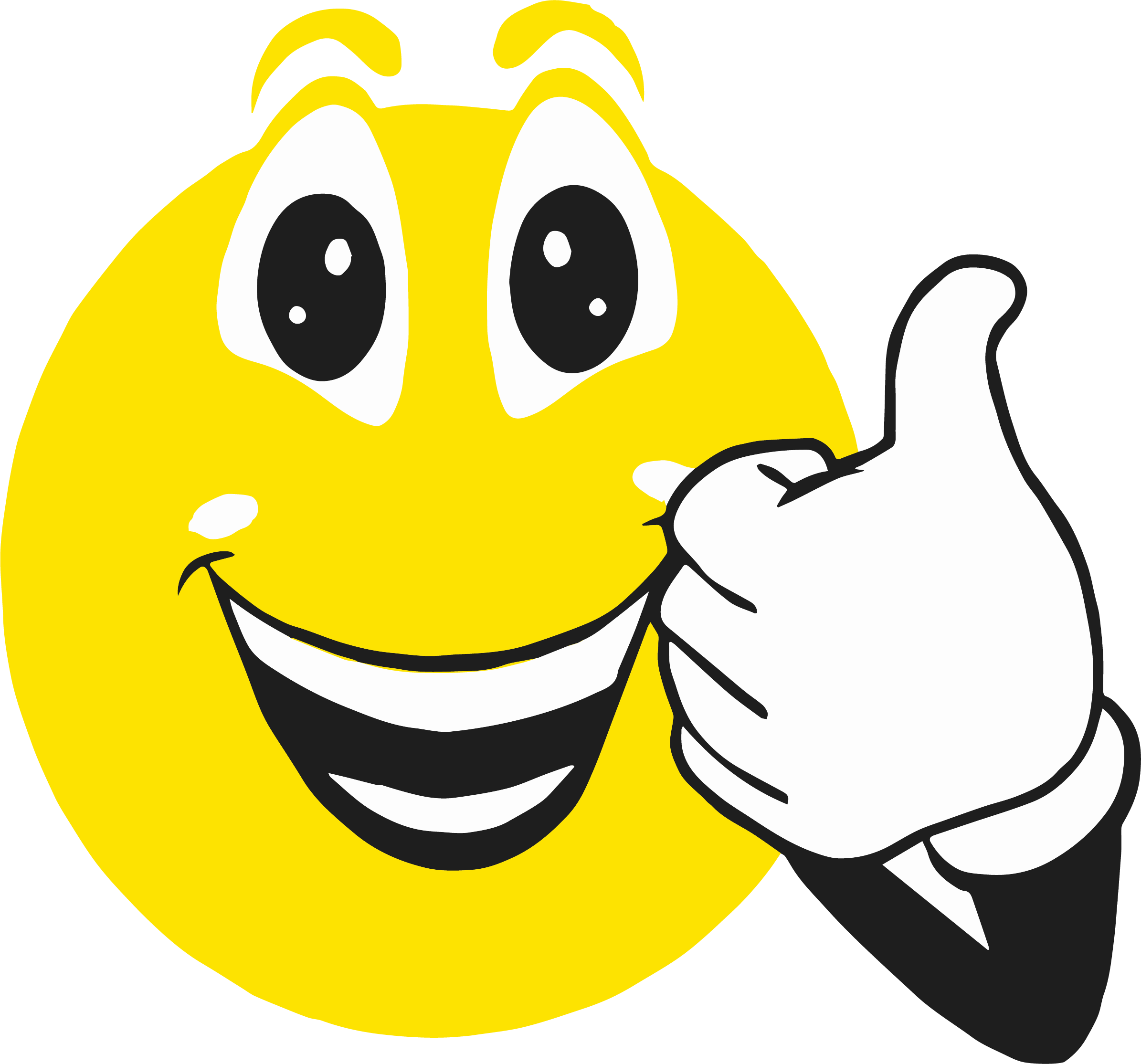 Clipart thumbs up smiley face banner free Smiley Face Clip Art Thumbs Up | Clipartly.com banner free