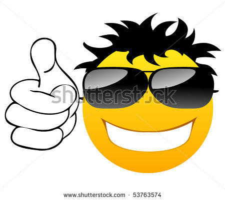 Clipart smiley face with thumbs up jpg download Thumbs Up Smiley Face With Black And White Clipart - Clipart Kid jpg download