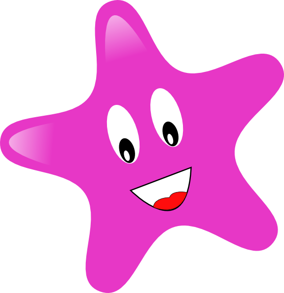 Smiley star clipart clip art black and white stock Star Clip Art at Clker.com - vector clip art online, royalty free ... clip art black and white stock