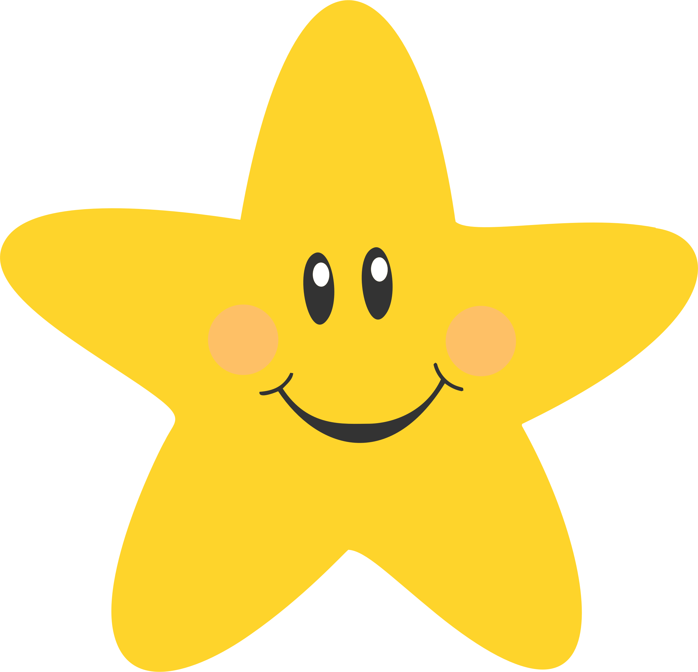 Star cartoon clipart clipart free download Clipart - Smiling Star clipart free download