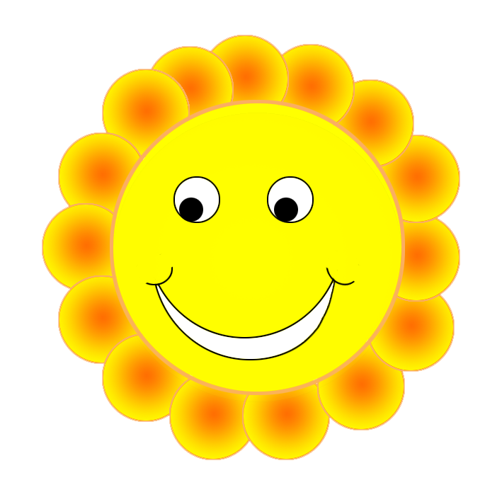 Cute sun smiling clipart graphic freeuse stock Smiley Face Clipart graphic freeuse stock