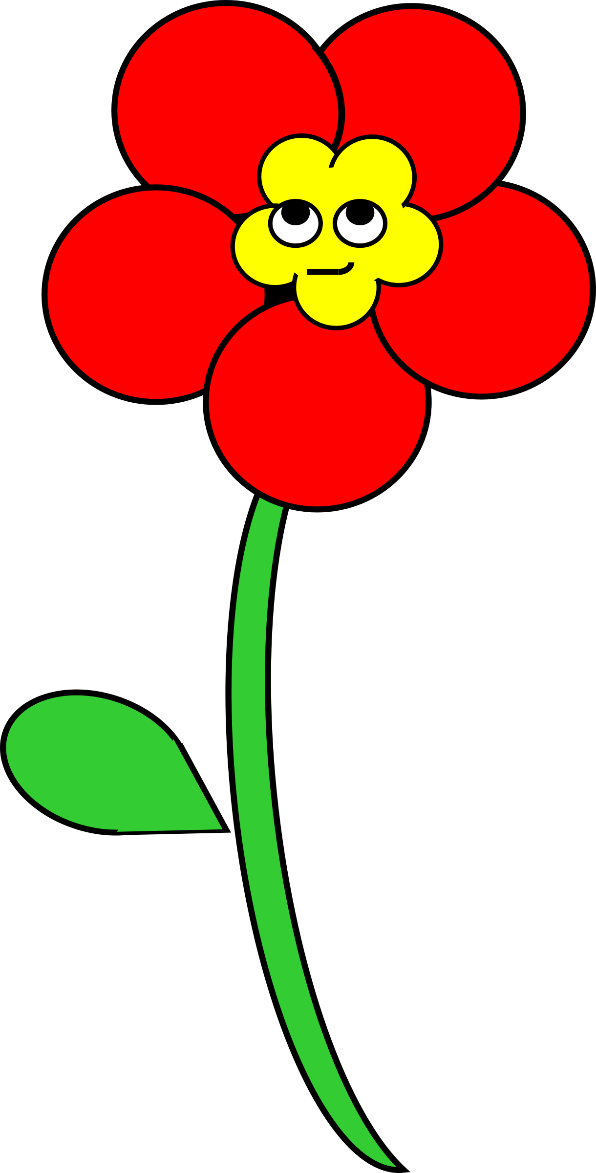 Smiling flower clipart banner library Clipart - Smiling Poppy banner library