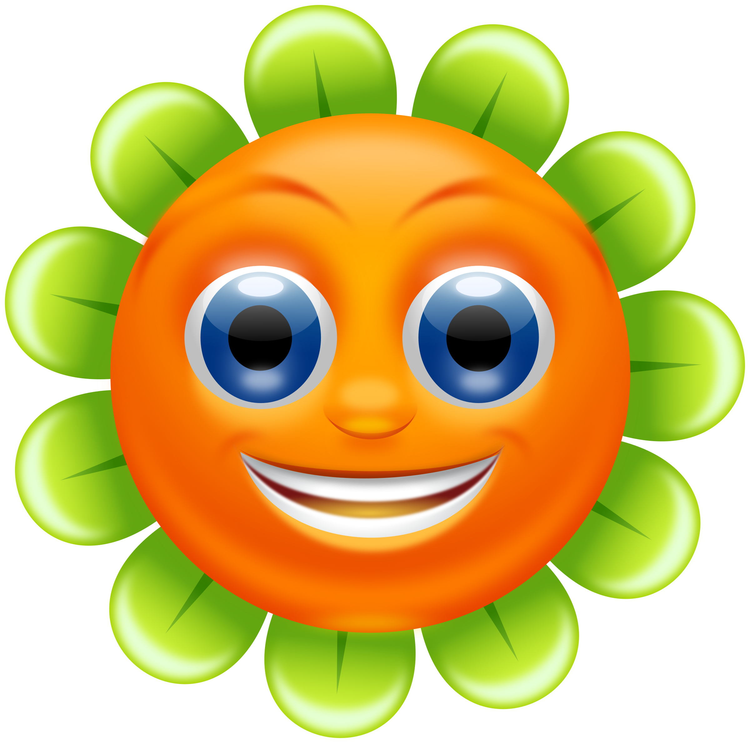 Smiling flower clipart banner stock Clipart - Smiling Flower - superb quality banner stock