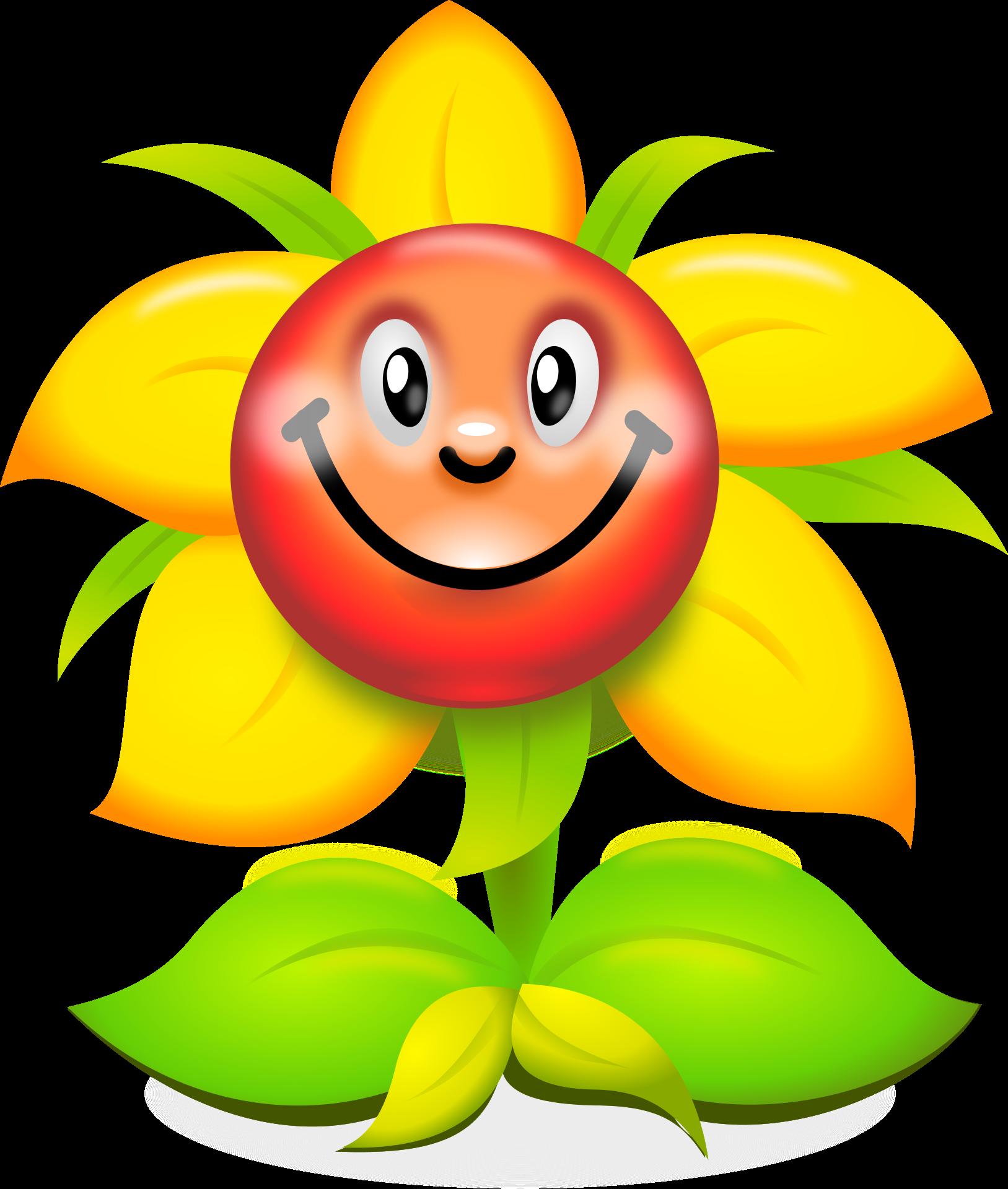 Flower Humour Smiley Clip art - Smiley sunflowers 1627*1920 ... clip art free