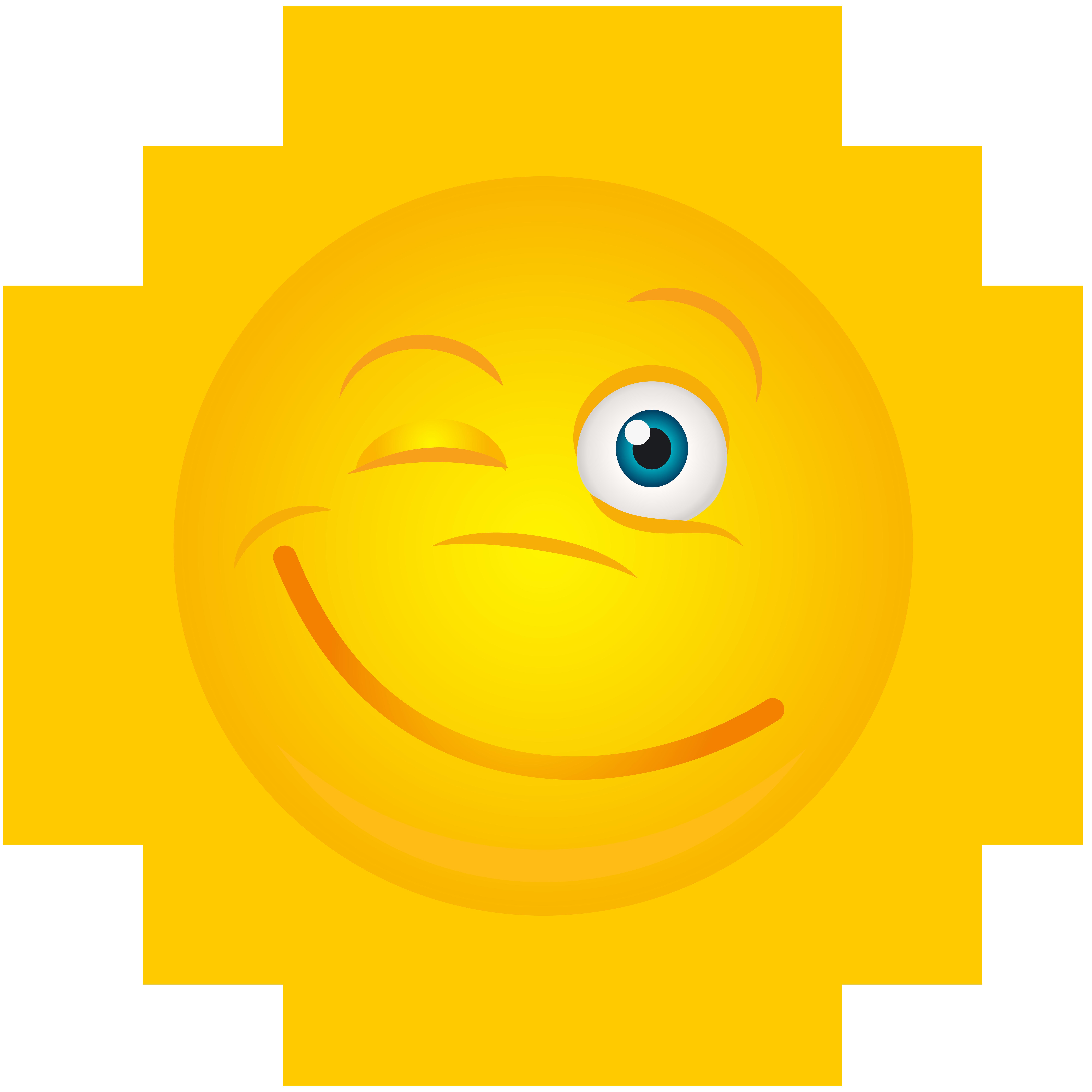 Winking Sun Transparent Clip Art Image   Gallery Yopriceville ... image transparent stock