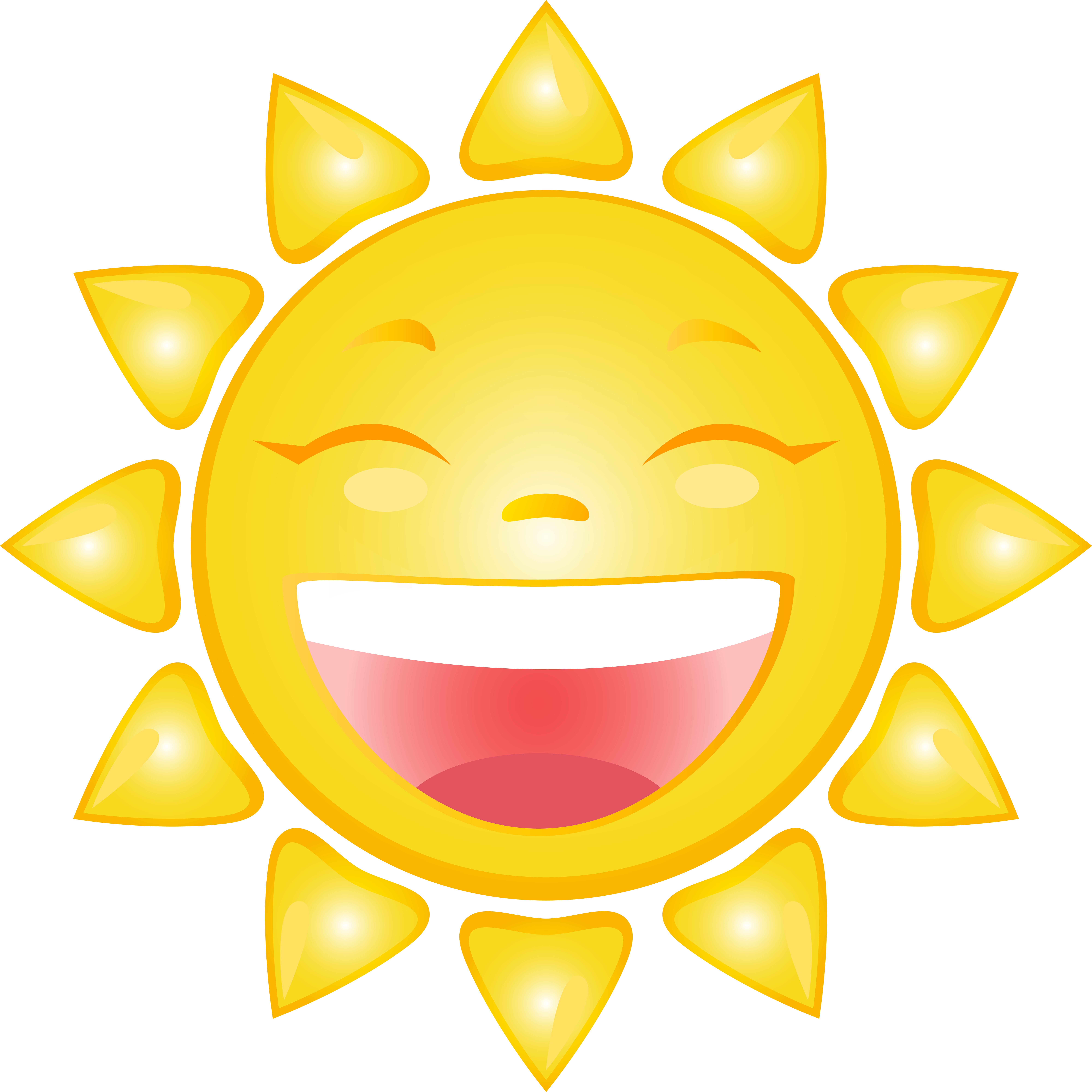 Smiling Sun Cartoon PNG Clip Art Image   Gallery Yopriceville ... png black and white