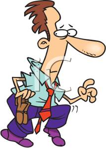 Sneaky person clipart graphic stock A Colorful Cartoon of a Man with His Shoes Off Sneaking - Royalty ... graphic stock